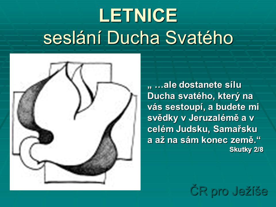 ČR pro Ježíše Termíny ŠVM v Malenovicích pro školní rok 2005/06 ŠVM II.