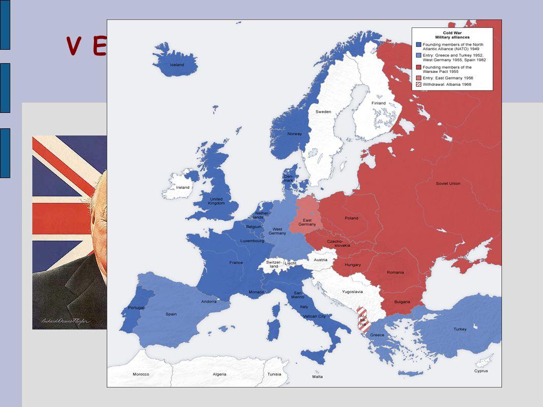 V Evropě se soupeření projevilo mj.