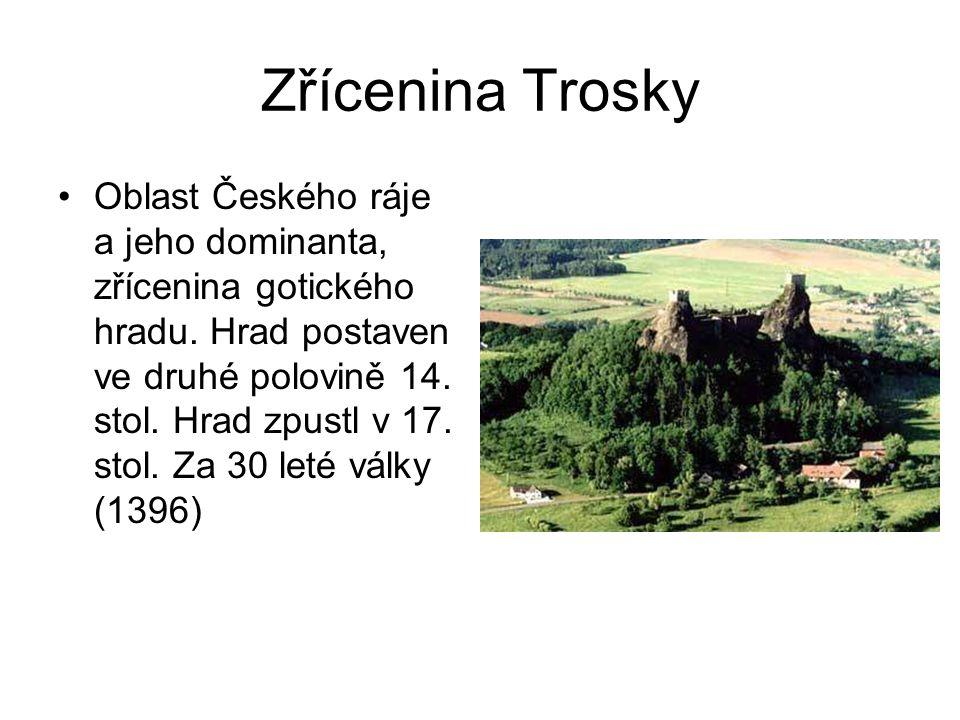 Zřícenina Krakovec •Okolí řeky Berounky, zřícenina gotického hradu, asi 10 km od Rakovníka.