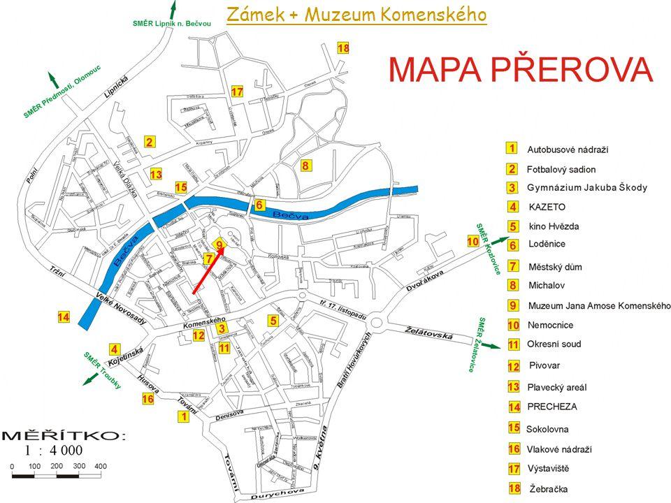 Zámek + Muzeum Komenského