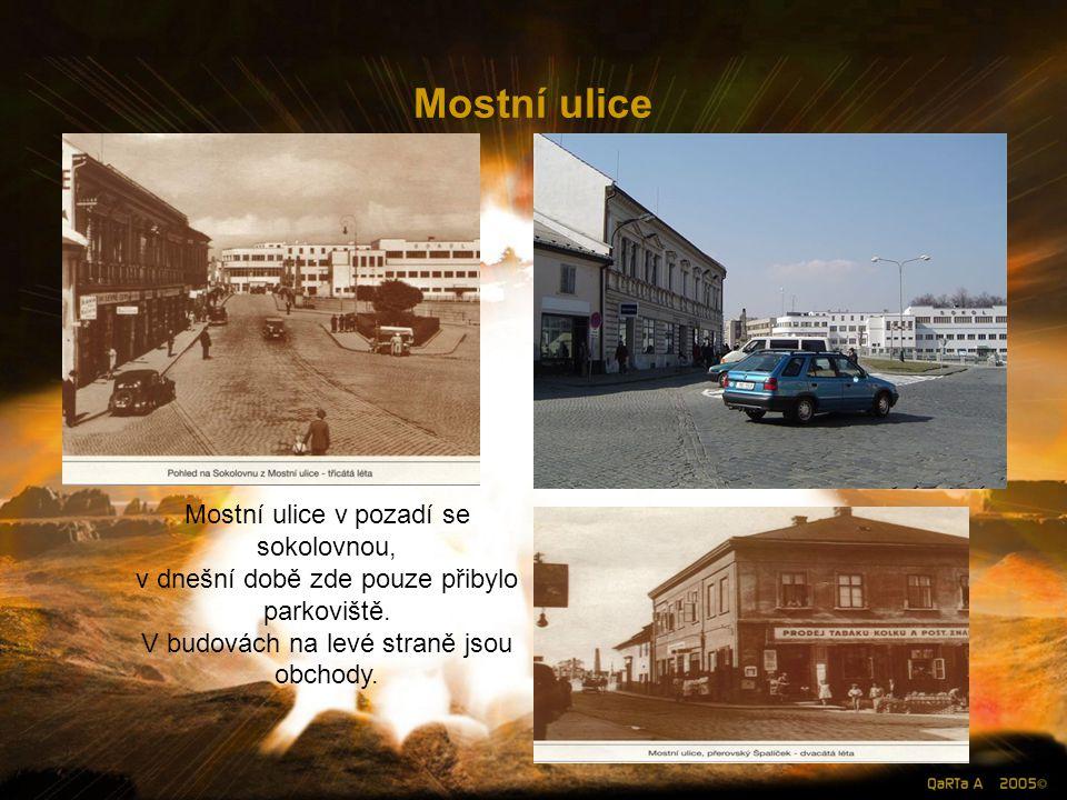 Kozlovská ulice Zkrátka jak můžeme vidět ve filmech kde jsou záběry hospod z první republiky .