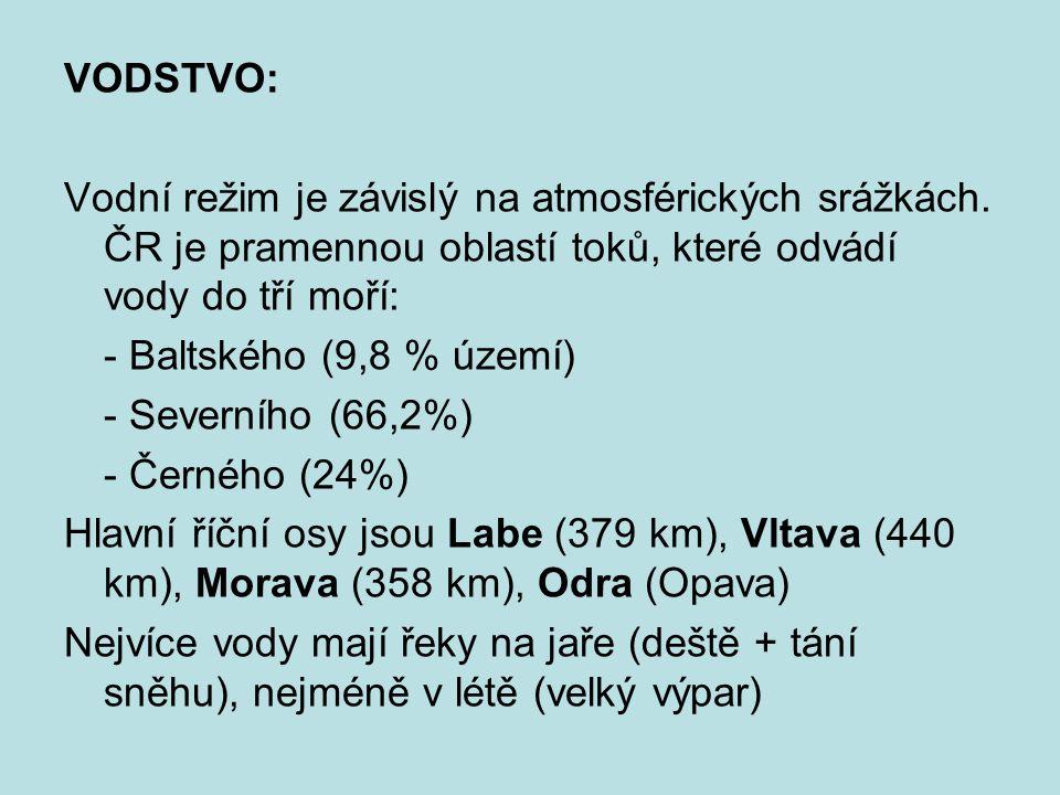 Horní hranice lesa se v ČR pohybuje od 1200 m do 1350 m n.m.