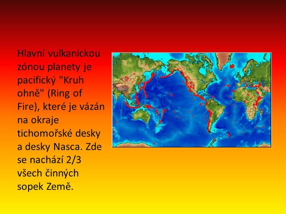 Hlavní vulkanickou zónou planety je pacifický
