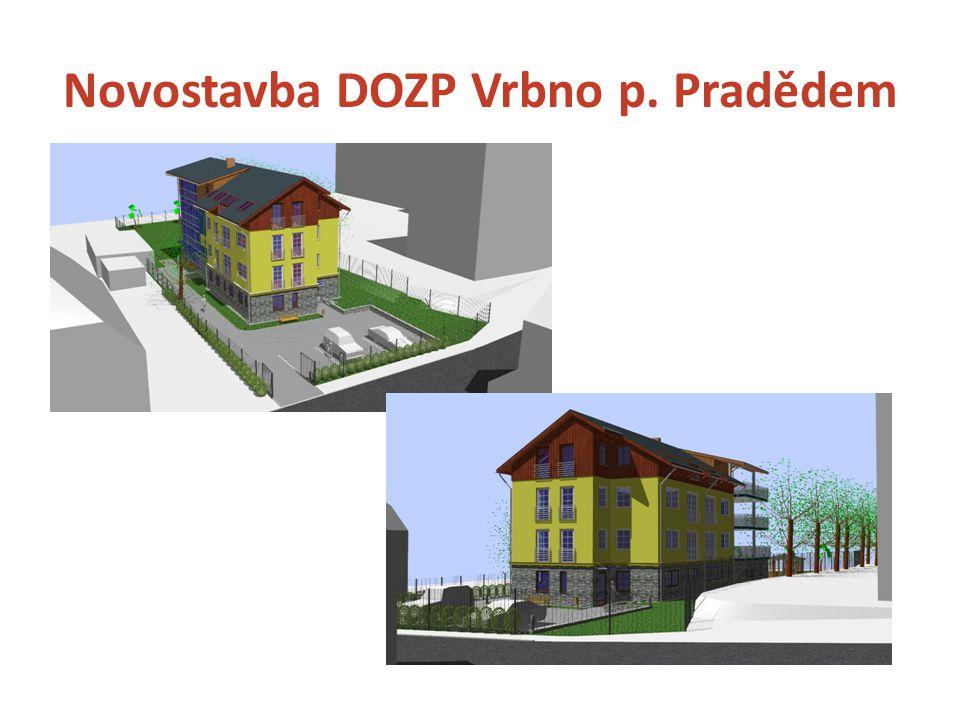 Chráněné bydlení Rýmařov  2 domácnosti pro 6 osob a 1 domácnost pro 3 osoby s vysokou mírou podpory, celkem pro 15 uživatelů  Budoucí poskytovatel: Sagapo, p.