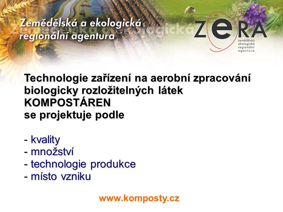 Biologicky rozložitelné látky KVALITA - obsah organických látek - obsah dusíku - sušina - obsah těžkých kovů (Pb,Hg,AS,CR,Cu,Mo,Ni,Zi,Cd ) (Pb,Hg,AS,CR,Cu,Mo,Ni,Zi,Cd ) www.komposty.cz