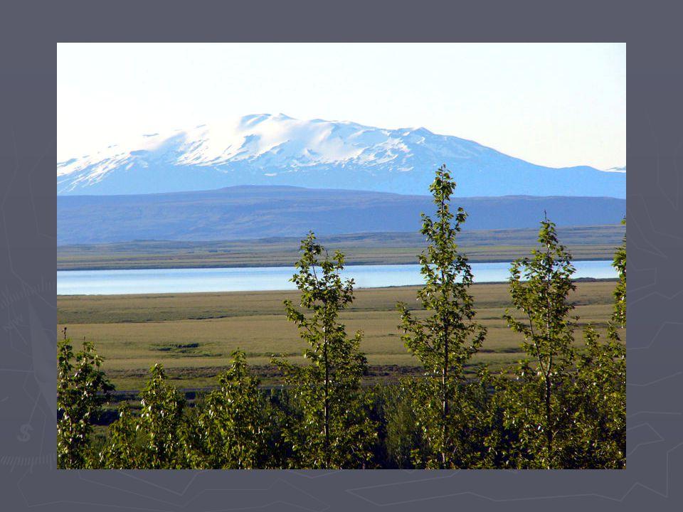 7.Jezero Mývatn a fjord Ísafjardardjúp ► Jezero Mývatn a jeho okolí je chráněným územím.