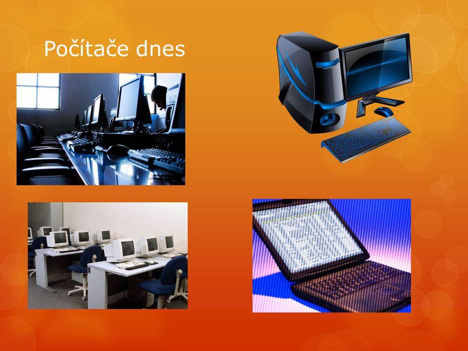 Počítače dnes