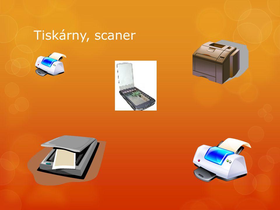 Tiskárny, scaner