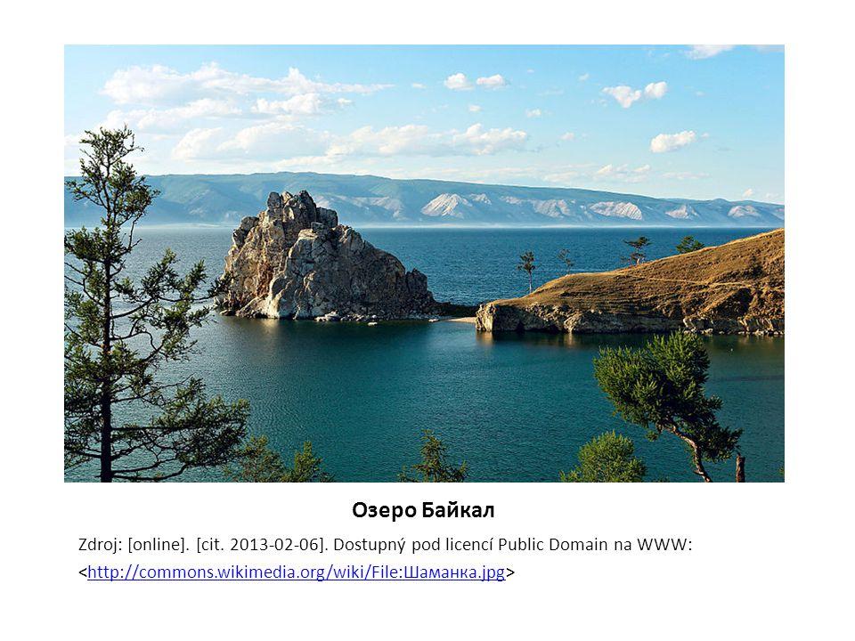 Oзеро Байкал Zdroj: [online].[cit. 2013-02-06].