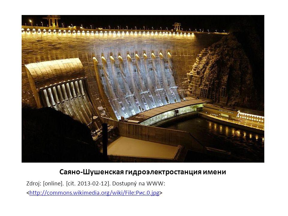 Саяно-Шушенская гидроэлектростанция имени Zdroj: [online].