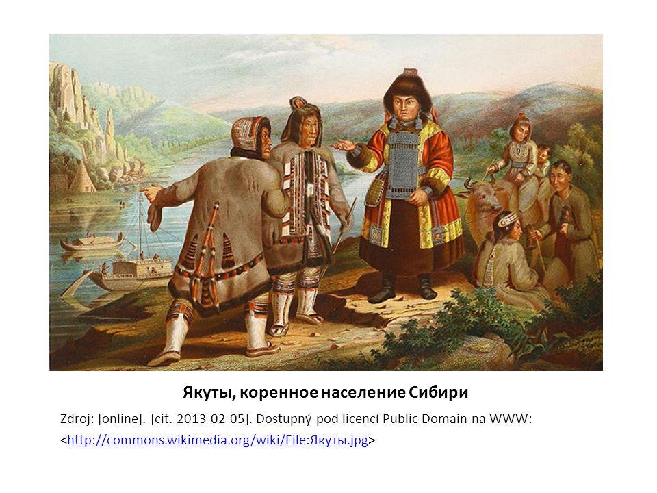 Якуты, коренное население Сибири Zdroj: [online].[cit.