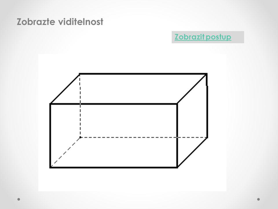 Ve volném rovnoběžném promítání zobrazte krychli z různých pohledů podhled zlevanadhled zprava nadhled zleva podhled zprava