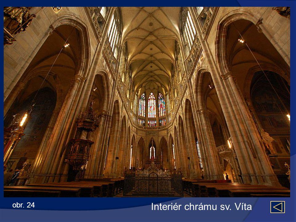 Interiér chrámu sv. Víta obr. 24