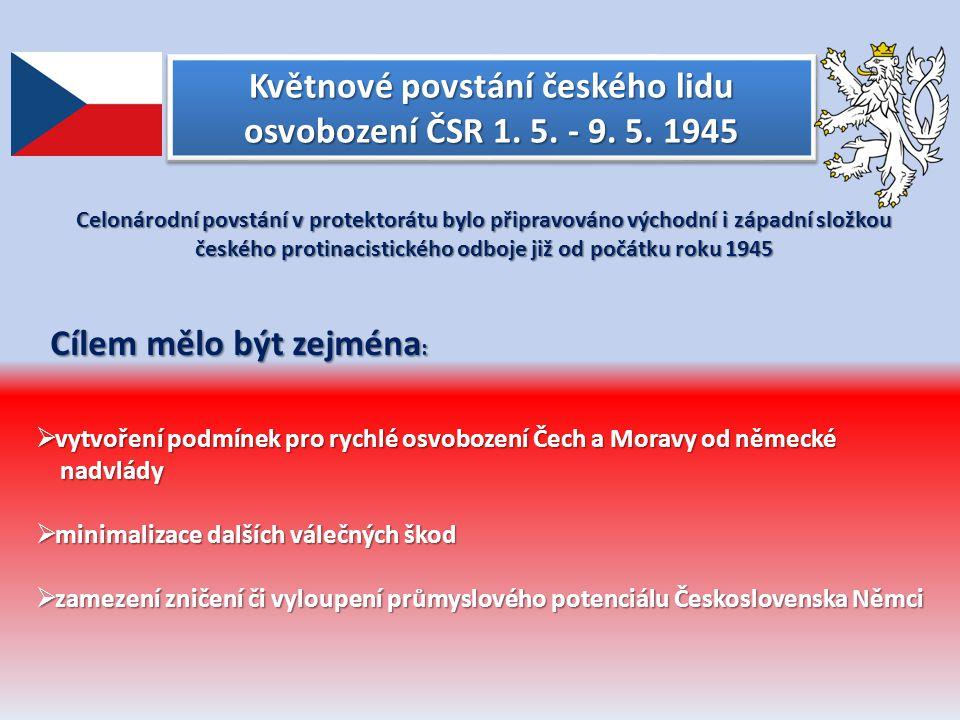 Květnové povstání českého lidu osvobození ČSR 1.5.