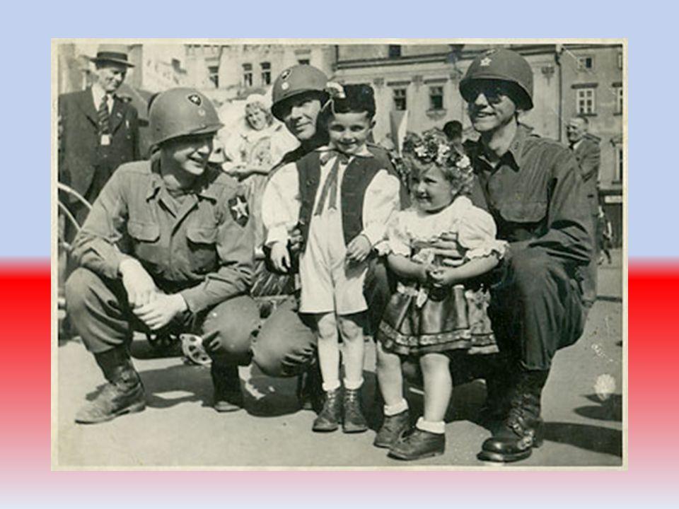 Praha A Tzv. Pražská operace Rudé armády a postup armády USA mezi 2.5. – 9.5. a postup armády USA mezi 2.5. – 9.5.Plzeň M I T T E AUSTRIA