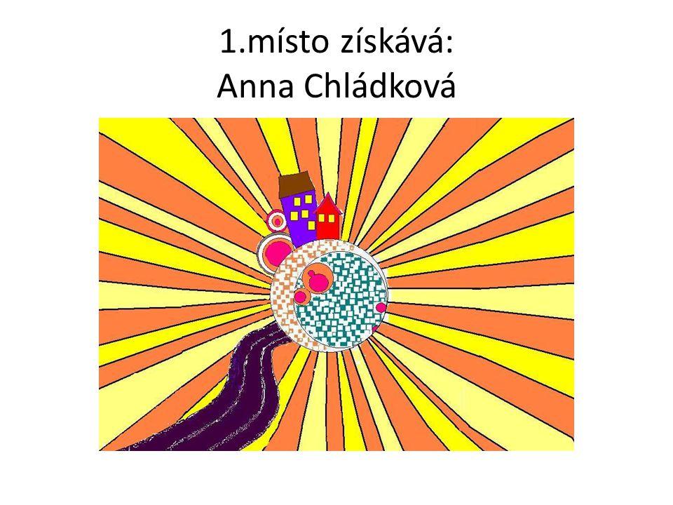 1.místo získává: Anna Chládková