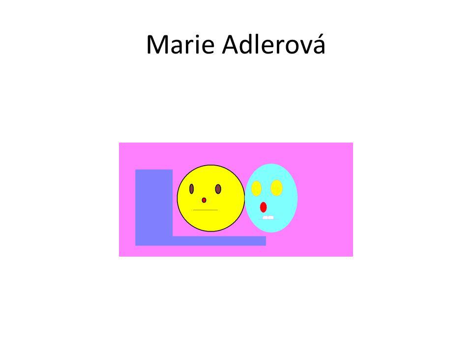 Marie Adlerová