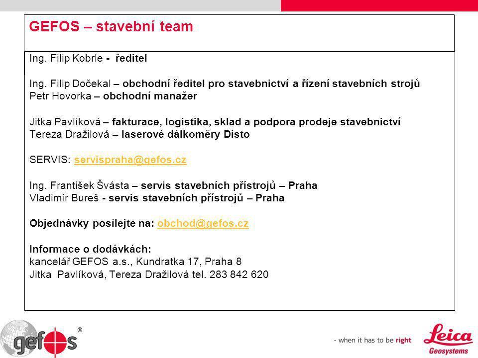 Ostrava – Seminář stavebních měřících přístrojů Leica 27.1.2010 Děkujeme Vám za pozornost a Vaší účast na semináři