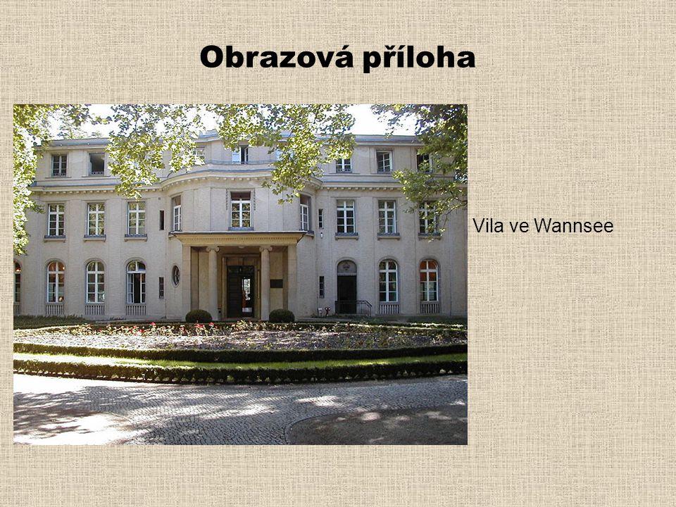 Obrazová příloha Vila ve Wannsee