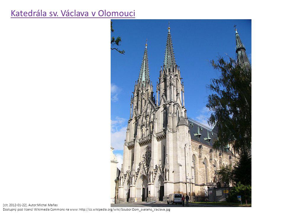 [cit. 2012-01-22]. Autor:Michal Maňas Dostupný pod licencí Wikimedia Commons na www: http://cs.wikipedia.org/wiki/Soubor:Dom_svateho_Vaclava.jpg Kated
