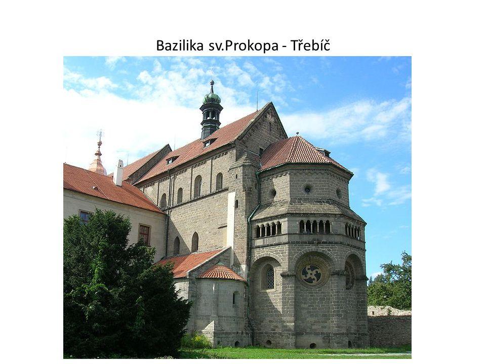 Bazilika sv.Prokopa - Třebíč