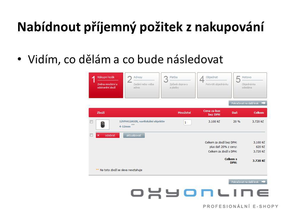 Napojení na informační systém Klíčové vlastnosti • konektor přenáší pouze změněná data • konektor nezatěžuje IS • eshop funguje i v případě, kdy IS není dostupný Na těchto vlastnostech trvejte