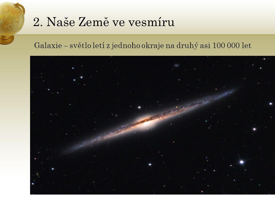 2.Naše Země ve vesmíru Planety: NEPTUN •Atmosféra je daleko bouřlivější, než na Uranu.