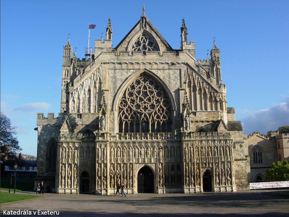 Katedrála v Exeteru