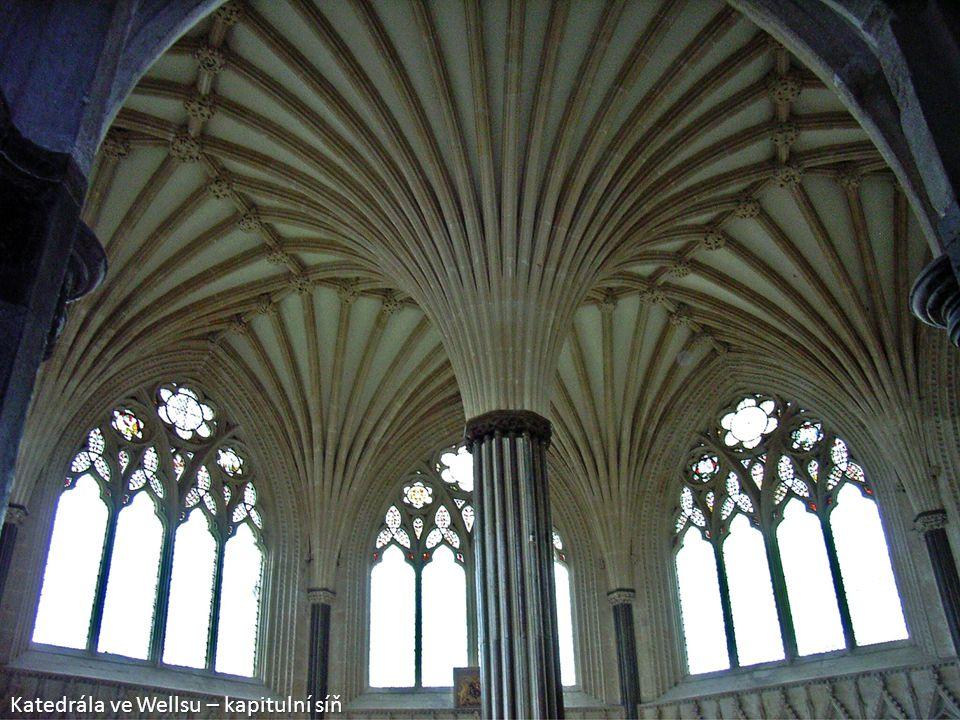 Katedrála ve Wellsu – kapitulní síň