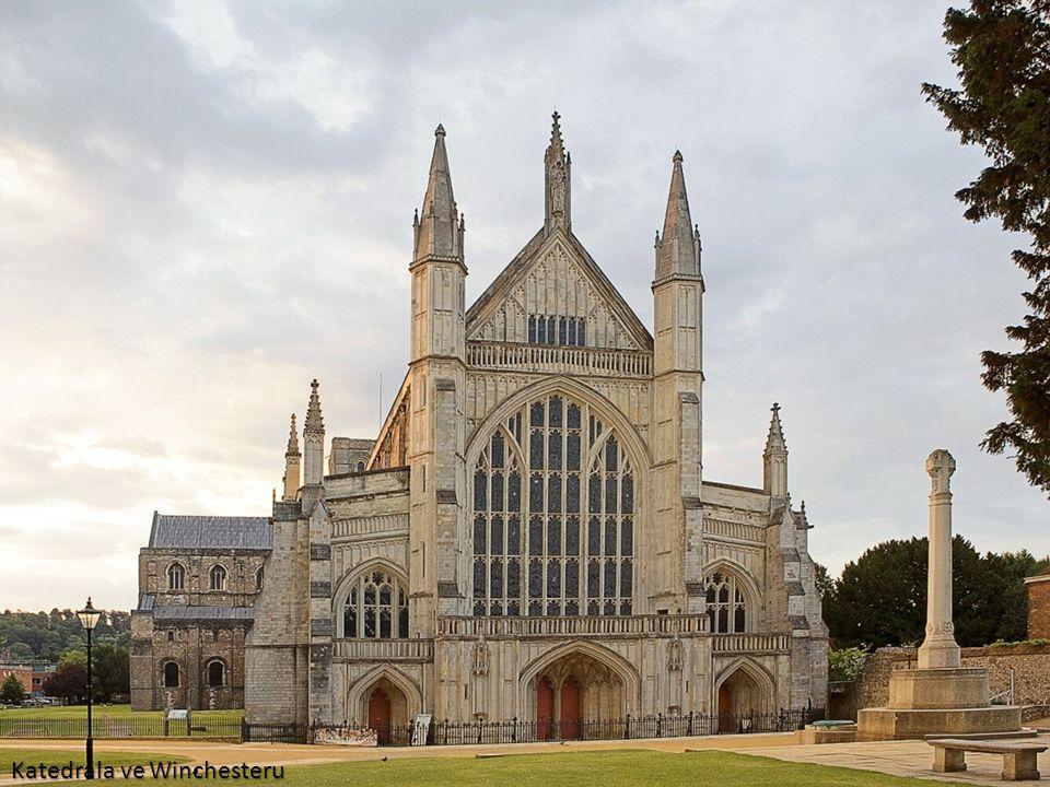Katedrála ve Winchesteru