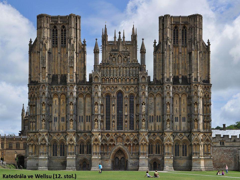 Katedrála ve Wellsu (12. stol.)