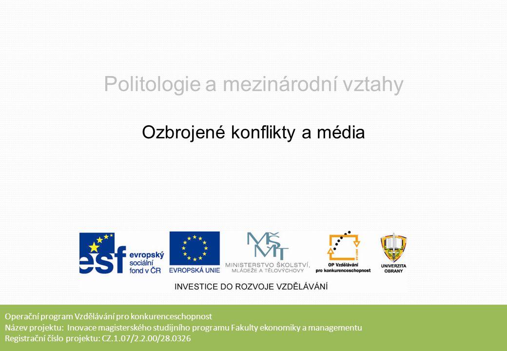 Obsah přednášky  Definice médií  Role, charakter a funkce médií  Sekuritizace a média  Média a ozbrojený konflikt  Role a vliv novináře  Shrnutí