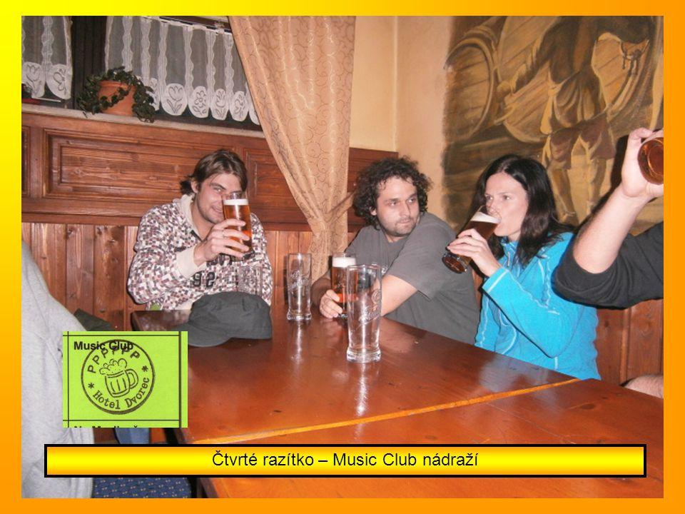 Čtvrté razítko – Music Club nádraží