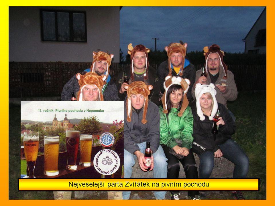 Nejveselejší parta Zvířátek na pivním pochodu