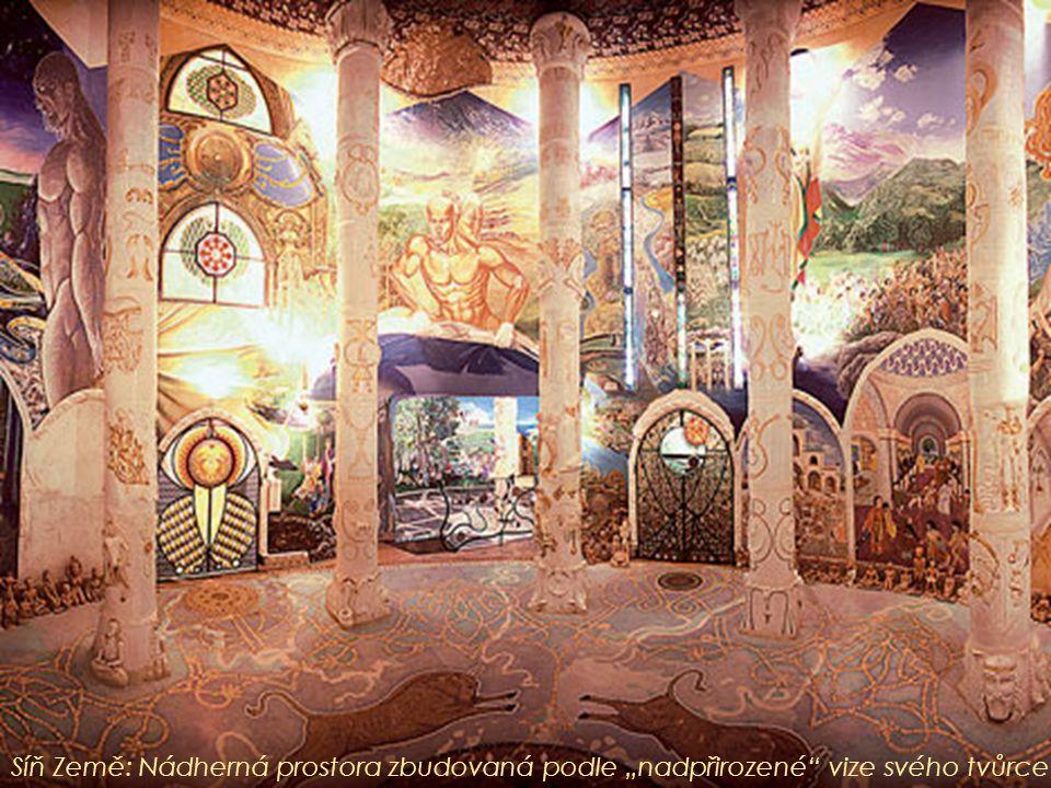 """Síň Země: Nádherná prostora zbudovaná podle """"nadpřirozené"""" vize svého tvůrce"""