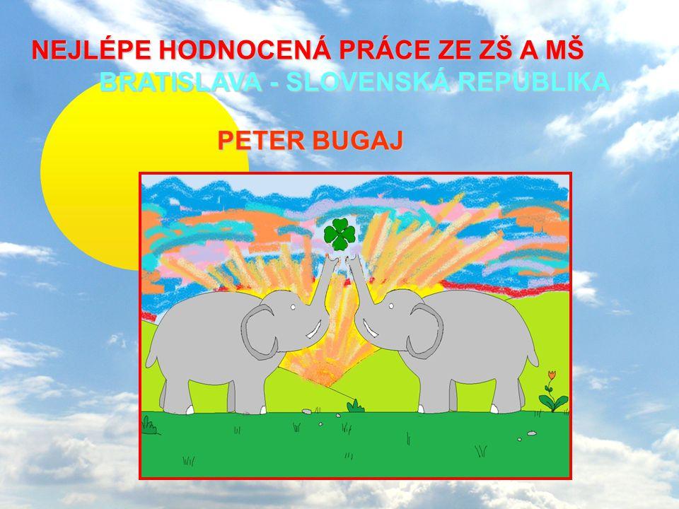 NEJLÉPE HODNOCENÁ PRÁCE ZE ZŠ A MŠ BRATISLAVA - SLOVENSKÁ REPUBLIKA NEJLÉPE HODNOCENÁ PRÁCE ZE ZŠ A MŠ BRATISLAVA - SLOVENSKÁ REPUBLIKA PETER BUGAJ PE