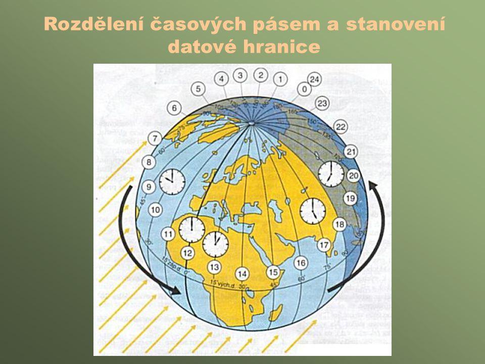 Chyby v interpretaci východů a západů Slunce: •Pokud jde o provoz, je třeba brát v úvahu vždy střední (místní) sluneční čas.