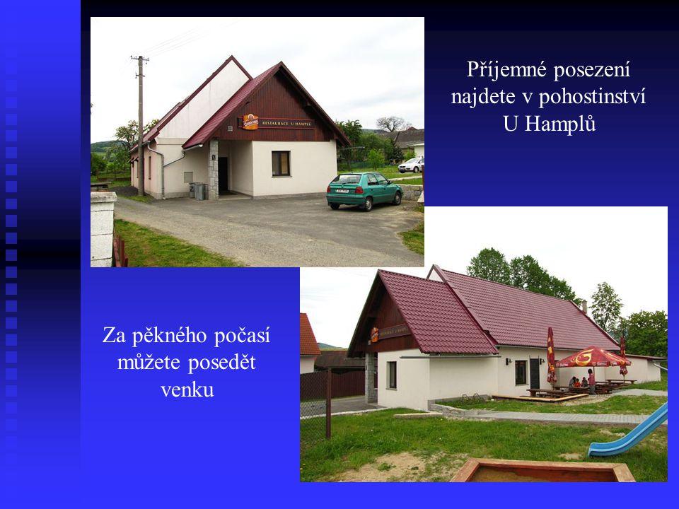Centrum obce Pohostinství a obchod Jednoty
