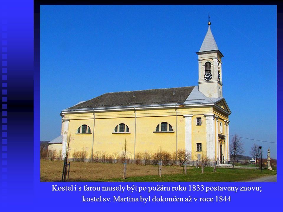 Dominantou obce Skorošice je kostel svatého Martina, který byl postaven v letech 1842 - 1844