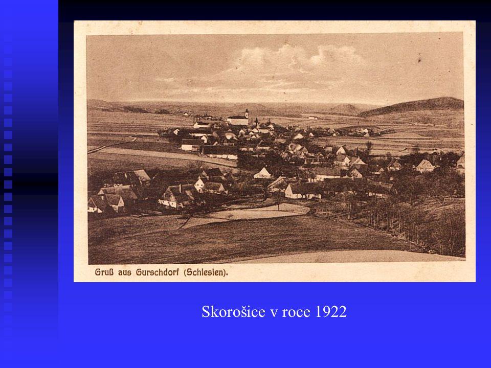 Skorošice v roce 1900