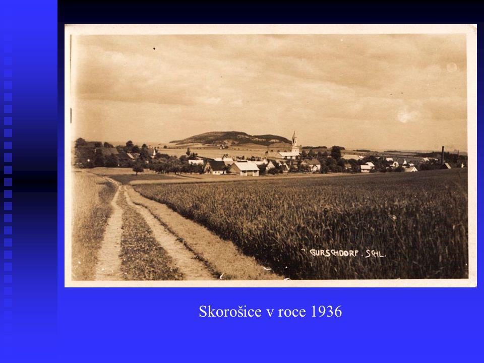 Skorošice v roce 1936