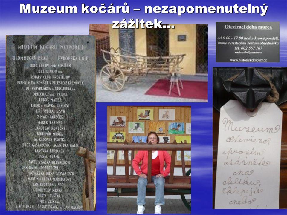 Muzeum kočárů – nezapomenutelný zážitek…