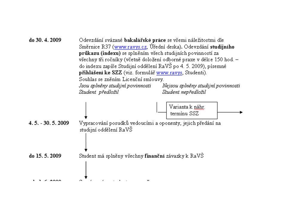 Diagram k řádnému termínu SZZ 2008 na RaVŠ