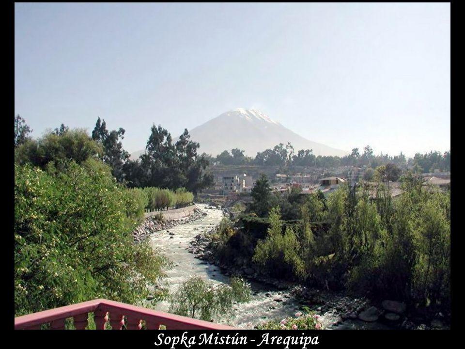 Sopka Mistún - Arequipa