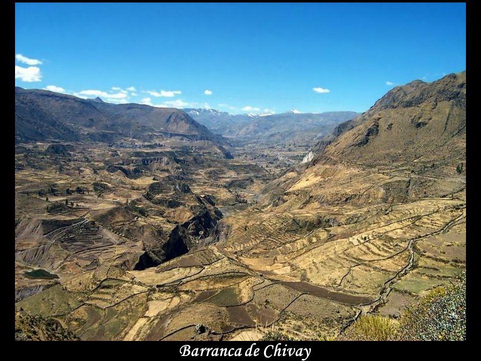 Barranca de Chivay