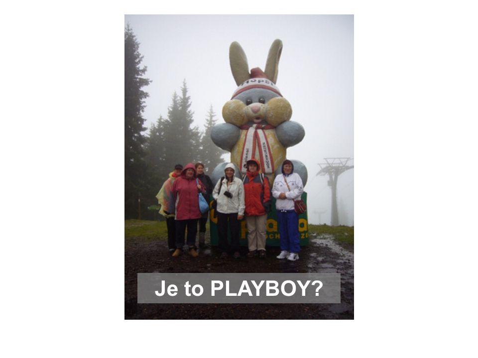 Je to PLAYBOY?