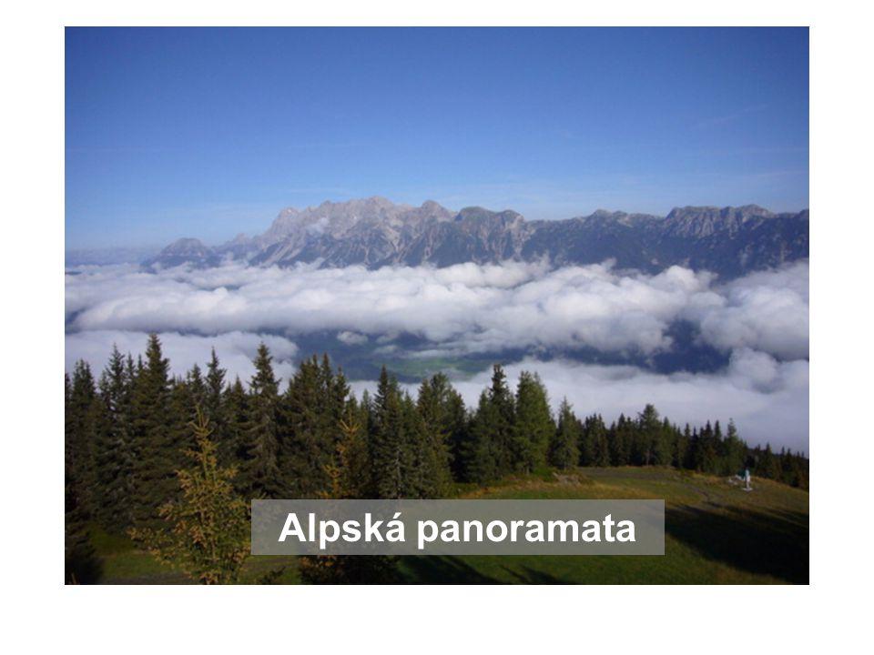 Alpská panoramata