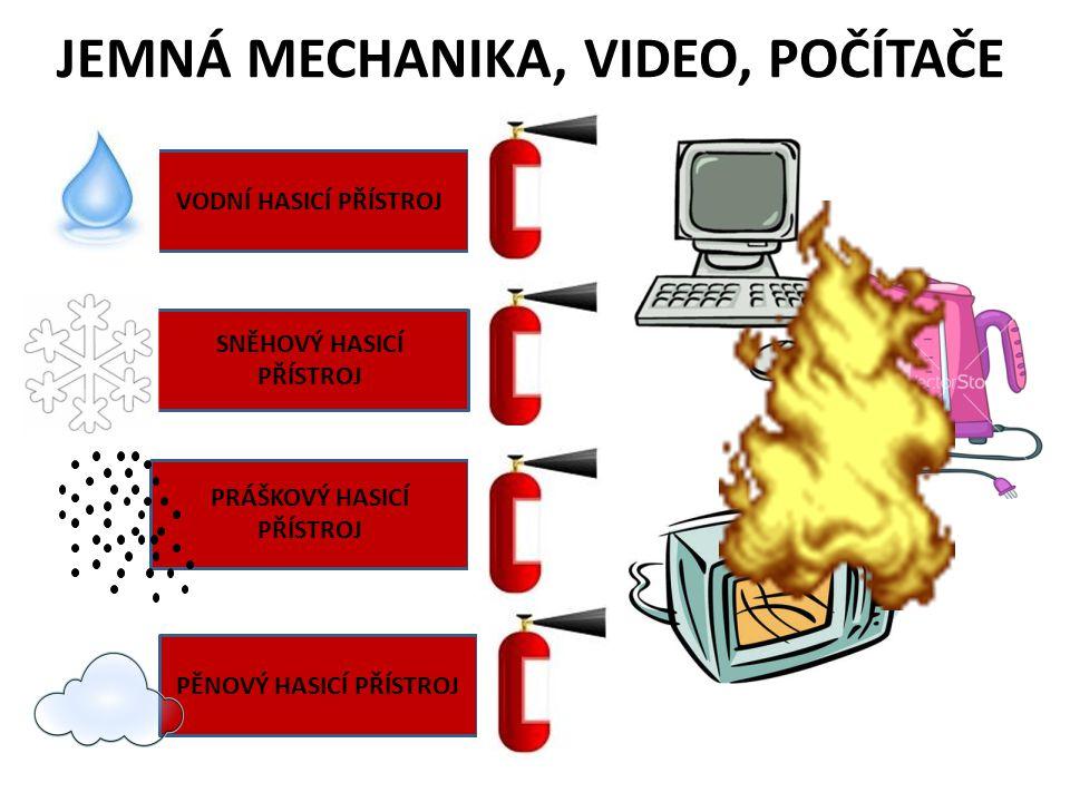 ELEKTRICKÝ ROZVADĚČ POD PROUDEM DALŠÍ – JEMNÁ MECHANIKA, VIDEO, POČÍTAČE VHODNÉ!!!