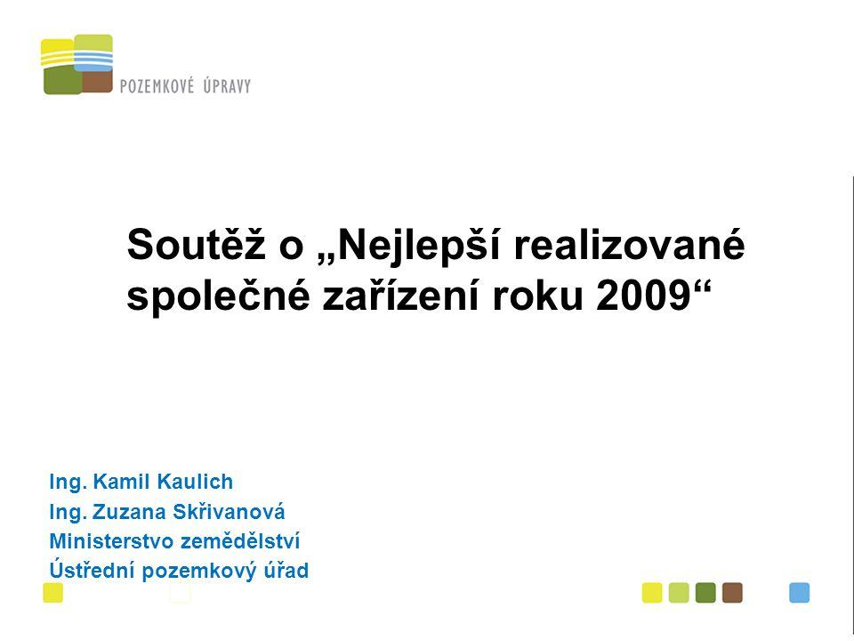 """Titul """" Nejlepší realizované společné zařízení roku 2009 II."""