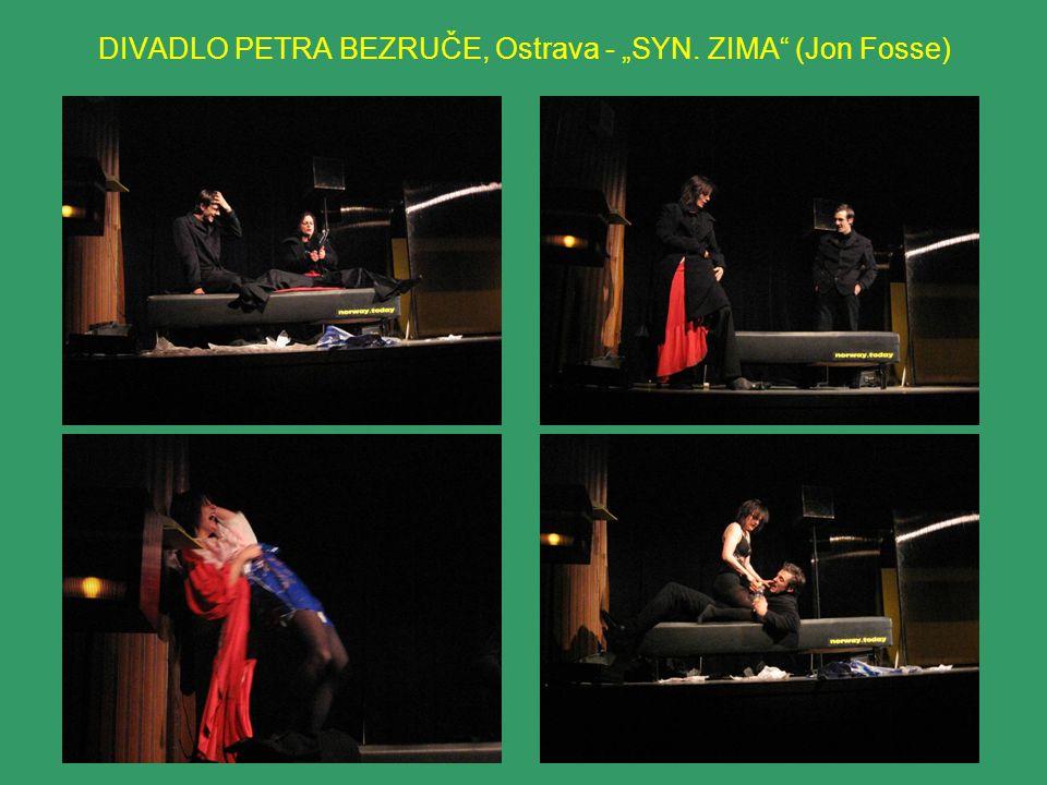 """DIVADLO U STOLU, Brno """"BOŽÍ DUHA (Jaroslav Durych) Dramatické setkání dvou lidských osudů přerůstající v podobenství o lásce a vykoupení."""